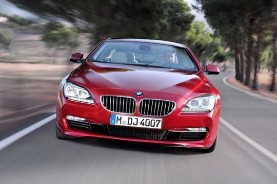 BMW рассекретил перед Шанхаем 6-Series Coupe 2012