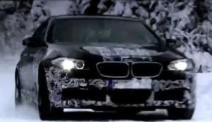 BMW M5 представили в действии