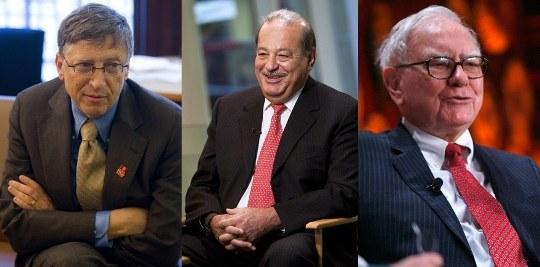 Forbes составил рейтинг богатейших людей Земли