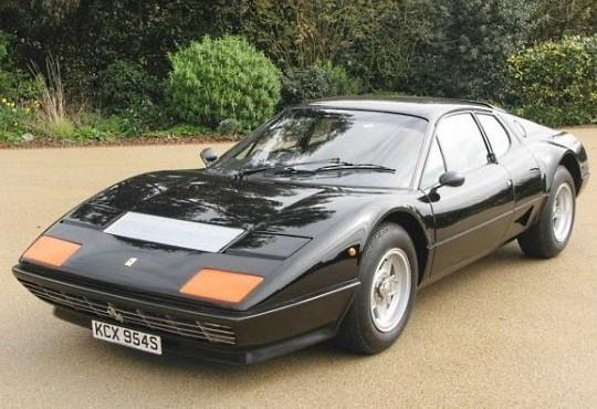 Ferrari 512BB Дженсона Баттона уйдет с молотка на Bonhams за $ 180000