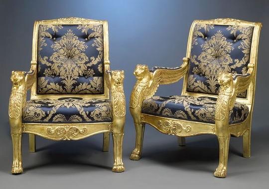 Царские кресла XIX века продают за 500