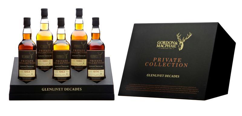 70-летний шотландский виски Гленливет от Gordon & McPhail