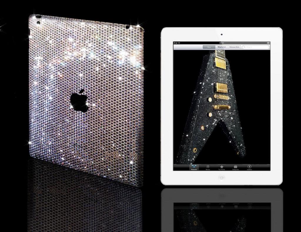 CrystalRoc инкрустировал iPad 2 кристаллами Swarovski