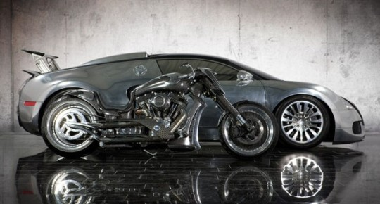 Карбоновый мотоцикл MANSORY Zapico от немецких тюнеров