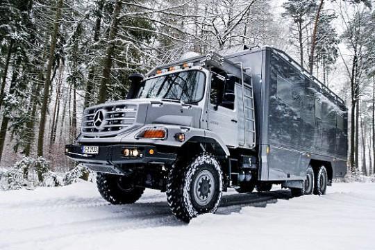 Mercedes-Benz Zetros для люксовых экспедиций