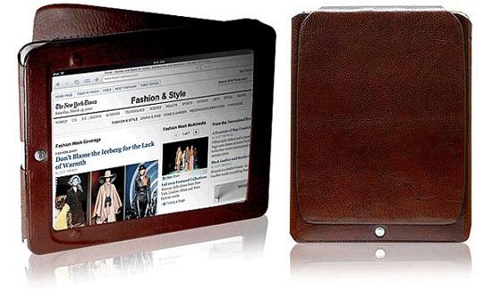 b0e55deb9e19 Компания Orbino, специализирующаяся на эксклюзивных аксессуарах, выпустила  коллекцию кожаных чехлов ручной работы для новоиспеченного iPad 2.