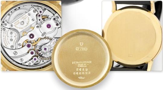 Неизвестные часы Patek Philippe Minute Repeate проданы за 0500