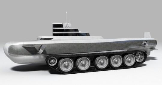 Субмарина на колесах Pathfinder от Phil Pauley