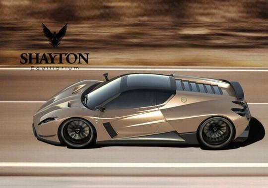 Гиперкар Shayton Equilibrium потеснит даже Bugatti