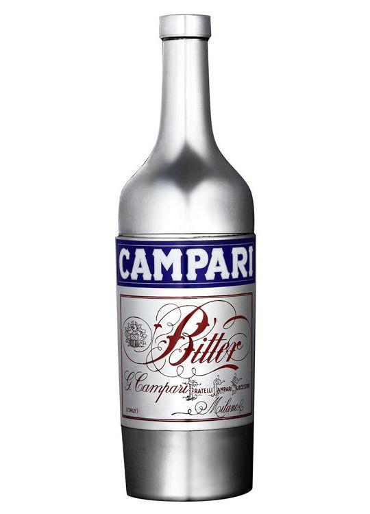 Серебряный шейкер Campari 1938 года