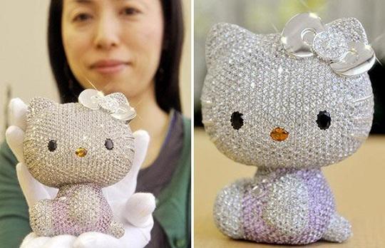 Hello Kitty останется самой дорогой игрушкой в мире только до 2014 года