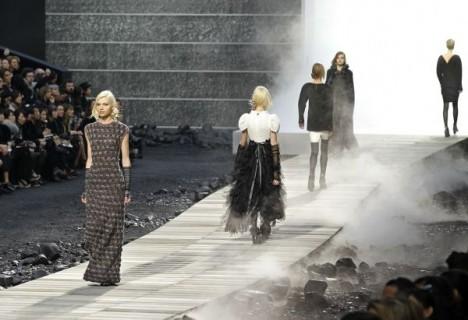 Дом Chanel представил коллекцию осень/зима 2011-2012