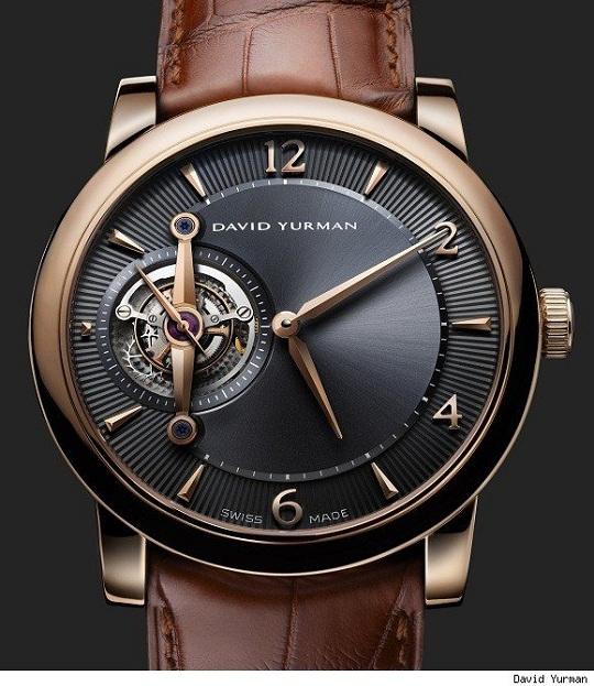David Yurman представил мужские часы Ancestrale Tourbillon