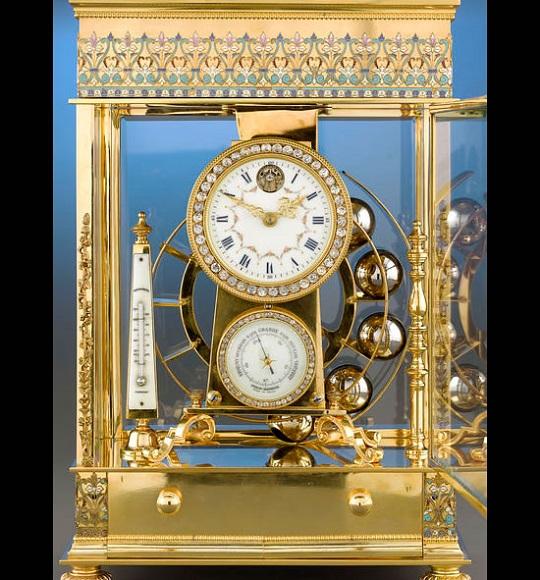 French Ferris wheel clock - шедевр часового искусства XIX века