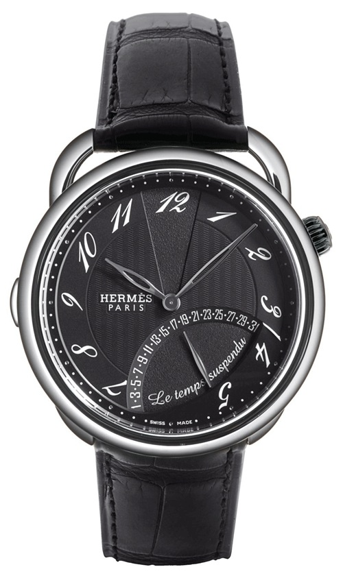 Hermes презентовала новую модель Arceau Le Temps Suspendu на выставке в Базеле