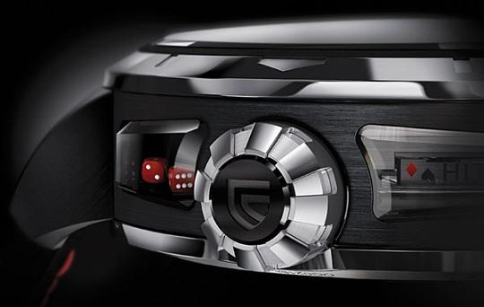 Эксклюзивные часы-казино 21 BlackJack от Christophe Claret