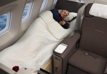"""Авиакомпания Lufthansa представит совершенно новый """"первый класс"""" на Боинге 747-400"""