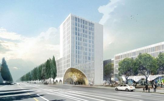 """Грандиозный проект отеля """"5 звезд"""" в центре Мюнхена"""