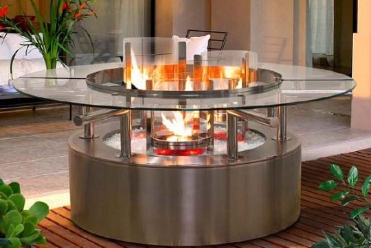 Ультрасовременный камин Cal Flame от американской компании Cal Spas