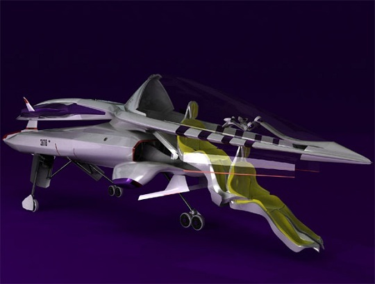 AvA One private jet concept - частные самолеты будущего