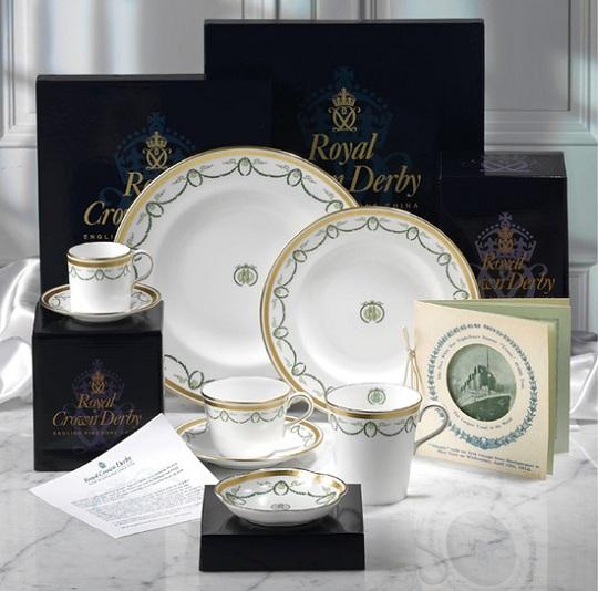 Воссоздана посуда с лайнера Титаник в честь его 100-й годовщины