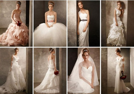 Коллекция свадебных платьев 2011 от Vera Wang