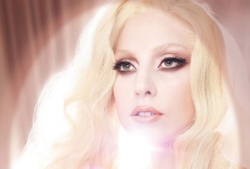 Lady GaGa рекламирует свою помаду от MAC Cosmetics