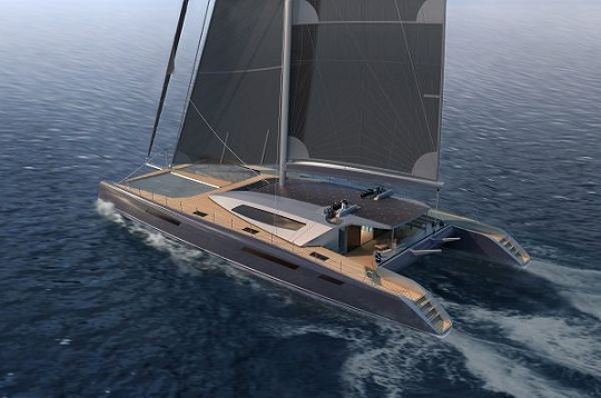 Люксовый мегакатамаран Aeroyacht 110 от Sunreef Yachts