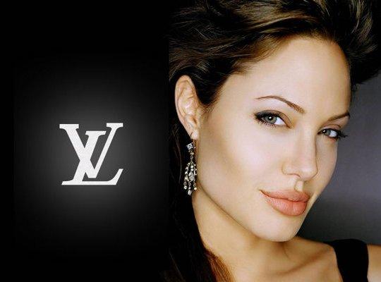 Анджелина Джоли за  млн стала лицом Louis Vuitton