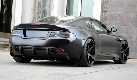 Суперкар Aston Martin DBS Superior Black Edition от Anderson Germany
