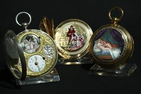 Антикварные эротические часы Henry Capt выставлены на аукцион