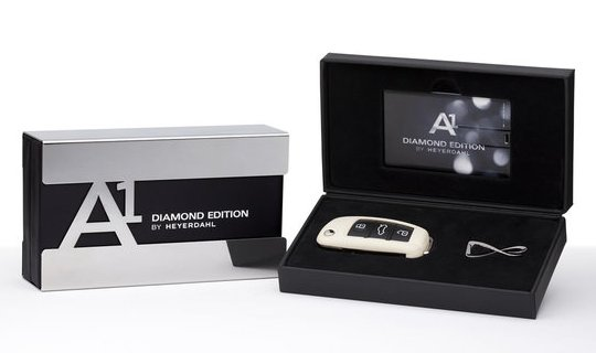 Audi A1 Diamond Edition для изысканных женщин
