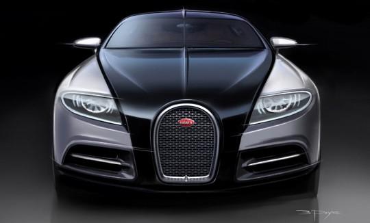 Суперседан Bugatti Galibier станет гибридом