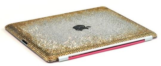 Весенний кейс Crystograph iPad2 Blooming Gold edition