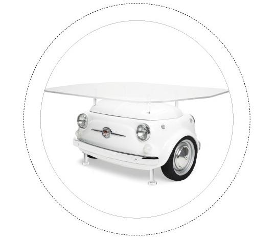 Мебель для пикника Fiat 500 Design Collection