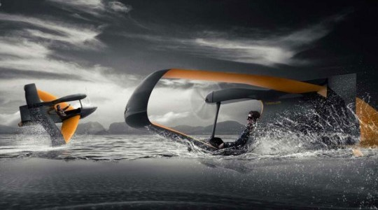 Суперлегкий гидросамолет FlyNano весит всего 70 кг