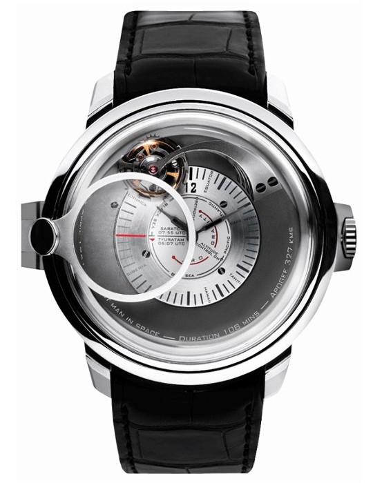 В честь 50-летия полета Юрия Гагарина выпущены часы Gagarin Tourbillon