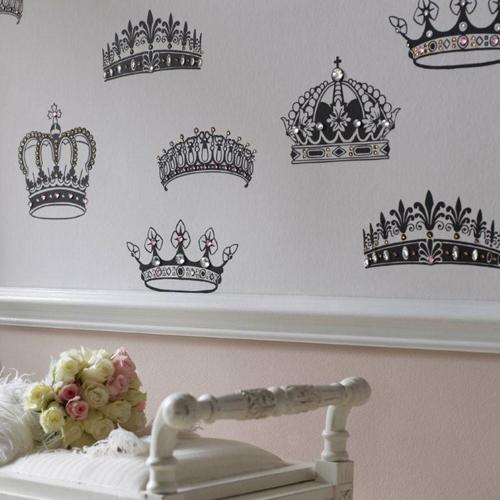 Королевские обои Crowns & Coronets от Graham & Brown