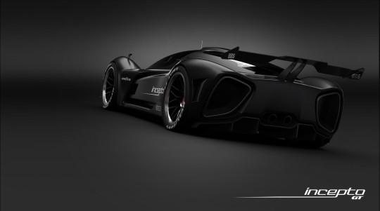 Incepto GT - концептуальный суперкар из Азербайджана