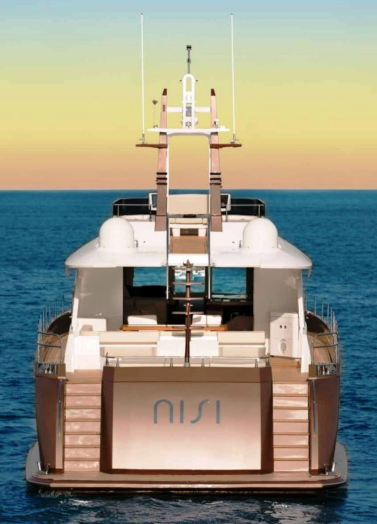 Суперяхта NISI 2400 стала Самой инновационной Яхтой года в Азии