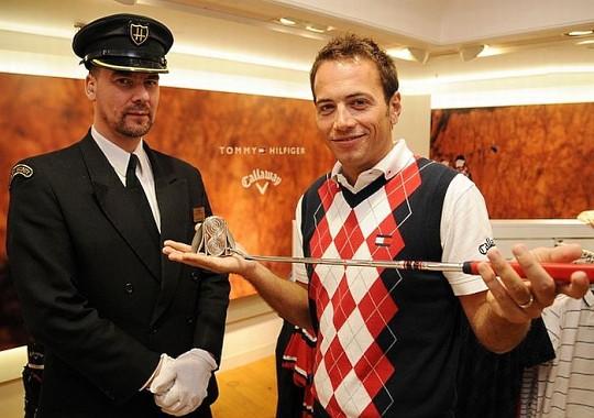 Бриллиантовая клюшка для гольфа Odyssey стала самой дорогой в мире
