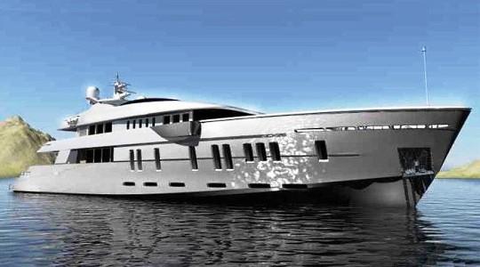 Суперяхту Nedship D-1000 построят за 17 800 000 Евро