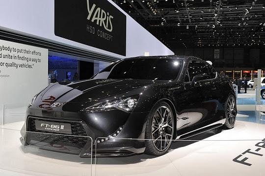 Toyota в 2012 выпустит концептульный спорткар FT-86