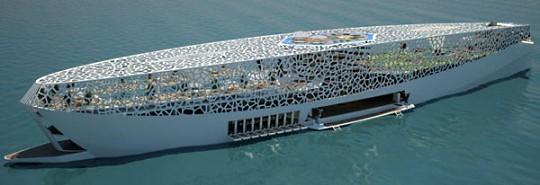 Мегаяхта Voronoi - 125 метров для развлечений