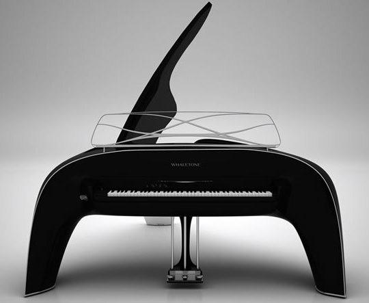 Роскошный кит-рояль Whaletone от Роберта Мажкута