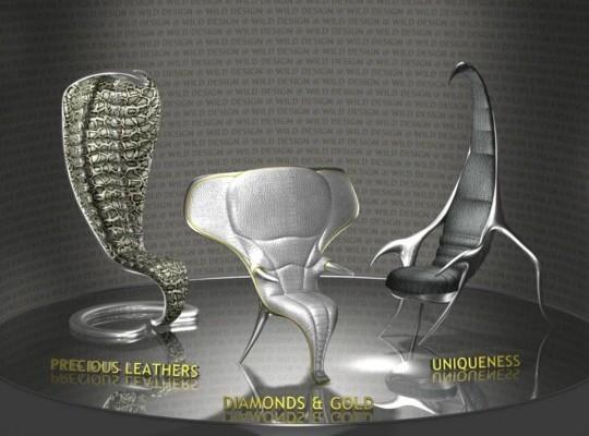 Арт дизайна мебели