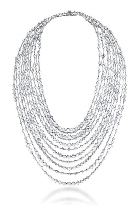 Коллекция бриллиантовых украшений от De Beers&Louis Vuitton