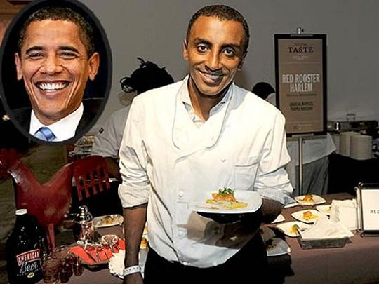 Барак Обама пообедал в ресторане на  800