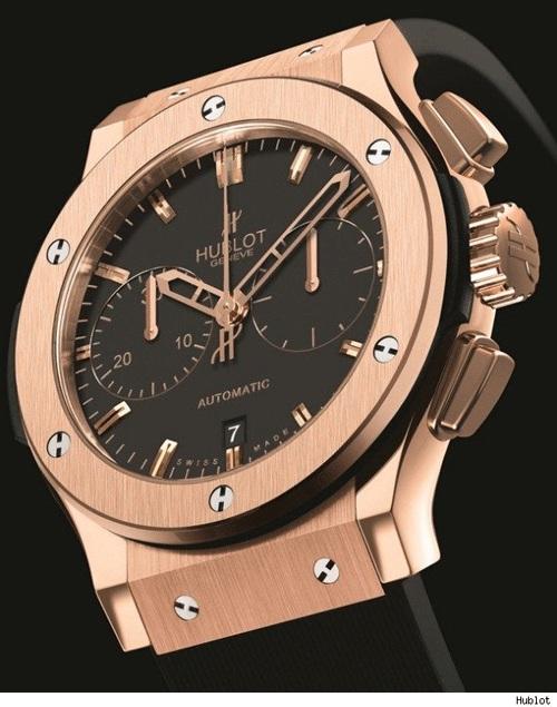 часы Hublot Classic Fusion, наручные часы Hublot, швейцарские часы Hublot