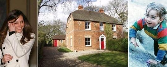 Дом Кейт Мидлтон выставят на аукционе